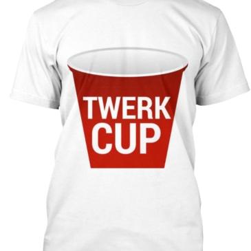 Twerking Miley Cyrus Tshirt